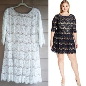 Jessica Howard Fit and Flare Lace dress